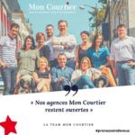 CORONAVIRUS – LES AGENCES MON COURTIER RESTENT OUVERTES