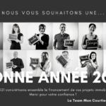 IMMOBILIER –  BELLE ET HEUREUSE ANNÉE 2021